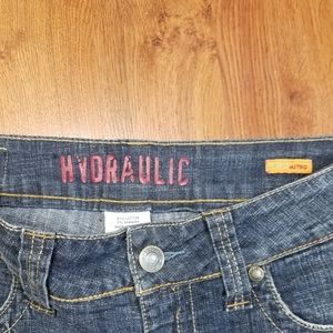 Hydraulic Jeans - Hydraulic Womens Embroidered Denim Metro Super Low